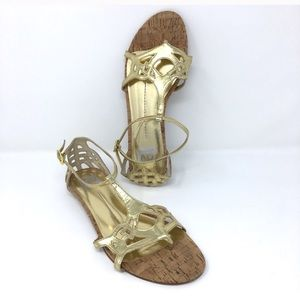 Dolce Vita gold sandals size 10